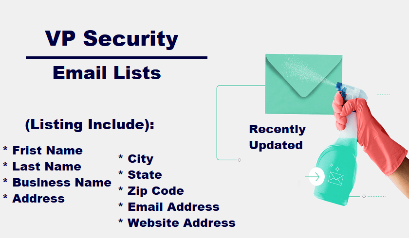 VP Security Email List